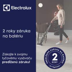 2-ročná záruka na batériu tyčových vysávačov Electrolux
