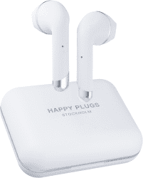 Happy Plugs Air 1 Plus biele