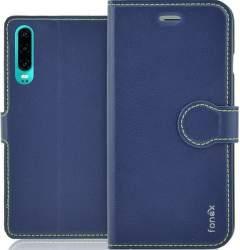 Fonex Identity knižkové puzdro pre Huawei P30 Lite, modrá