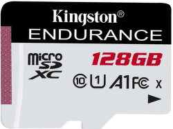 Kingston Endurance 128 GB micro SDXC/Class 10