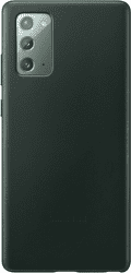 Samsung kožené puzdro pre Samsung Galaxy Note20, zelená