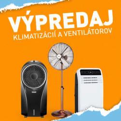 Výpredaj klimatizácií a ventilátorov