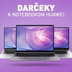 Darčeky k notebookom Huawei