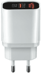 Forever Core PD USB-C/USB QC 3.0 20 W 4 A biela