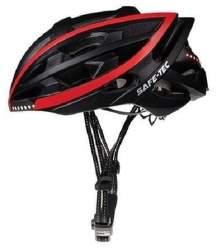 Safe-Tec TYR L Smart helma čierna
