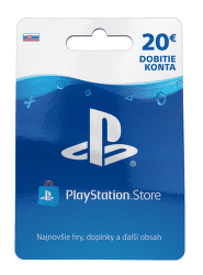 PlayStation Live Cards 20 EUR