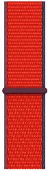 Apple Watch 40 mm športový prevliekací remienok červený
