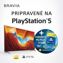 PlayStation Plus na 12 mesiacov k TV Sony