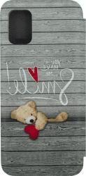 Winner Evolution 3D Teddy puzdro pre Samsung Galaxy A51 sivá