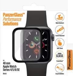 PanzerGlass ochranné sklo pre smart hodinky Apple Watch SE, series 4, 5 a 6 40 mm transparentná