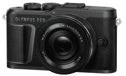 Olympus E-PL10 čierny + 14-42 mm f/3,5-5,6 EZ-M1442EZ Pancake