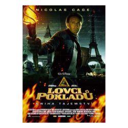 DVD F - Lovci pokladov 2: Kniha tajomstiev