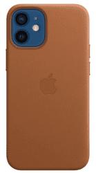 Apple kožený kryt pre Apple iPhone 12 mini MagSafe hnedá