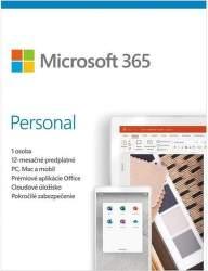 Microsoft 365 Personal ESD (1 ROK, 1 UŽIVATEĽ, 1TB CLOUD) - elektronická licencia