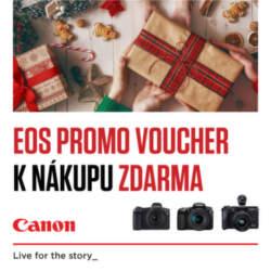 Poukážky Ederned k fotoaparátom Canon