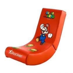 X Rocker - Nintendo Super Mario červené
