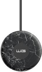 Winner Uni Fast Charge bezdrôtová nabíjačka 15 W 2 A mramorová čierna