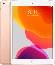 Renewd - Obnovený iPad 7 (2019) 32GB Wi-Fi + Cellular zlatý