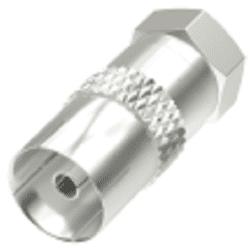 Hama 205222 SAT redukcia F-vidlica – koaxiálna zásuvka