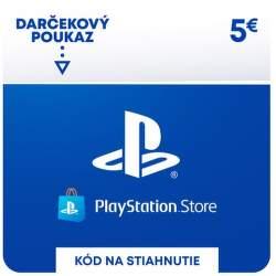 PlayStation Store 5 eur - Digitálny produkt