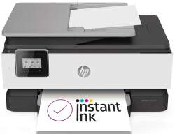HP OfficeJet 8013 1KR70B sivá s HP Instant Ink