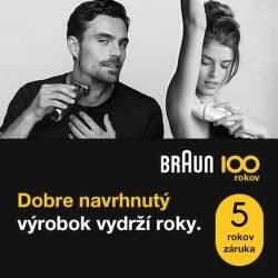 Limitovaná edícia produktov Braun s 5-ročnou zárukou