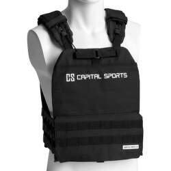 Capital Sports Battlevest 2.0 záťažová vesta čierna