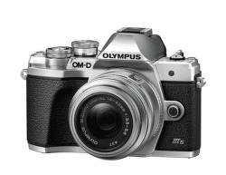 Olympus OM-D E-M10 Mark III S kit 14-42 R strieborná