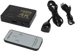 Power+ 60300 HDMI 1.4 female/female prepínač 3x1