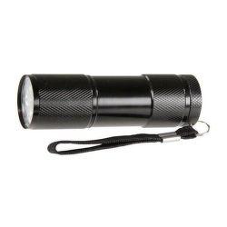 P3840 Svietidlo LED 9 diód 3xR03 čierne