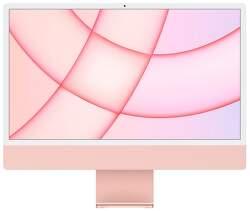 "Apple iMac 24"" (2021) 4,5K Retina M1 / 7-jadrové GPU / 8 GB / 256 GB MJVA3SL/A ružový"