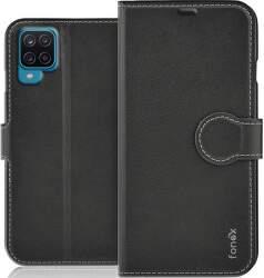 Fonex Identity knižkové puzdro pre Samsung Galaxy A12 čierna