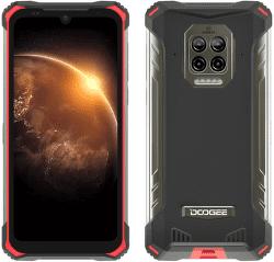 Doogee S86 128 GB červený