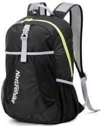 Naturehike 22l 190g športový zbaliteľný batoh čierny