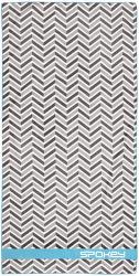 Spokey Zigzag 80x160cm rýchloschnúci uterák