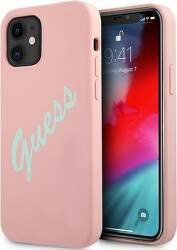 Guess puzdro pre Apple iPhone 12 mini ružová