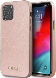 Guess puzdro pre Apple iPhone 12 Pro Max zlato-ružová