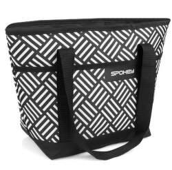 Spokey Acapulco čierno-biela termo taška