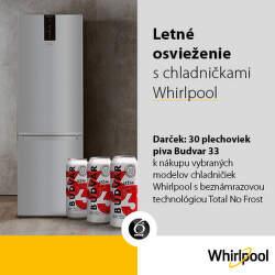 Darček k chladničkám Whirlpool