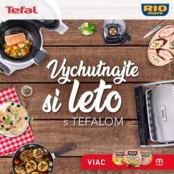 Darček k nákupu produktov Tefal nad 100 €
