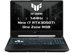 ASUS TUF Gaming F15 FX506HE-HN106T čierny