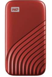 WD My Passport SSD 500GB USB-C červený