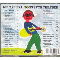 CD H - ZBIRKA, MIRO - SONGS FOR CHILDREN /SK