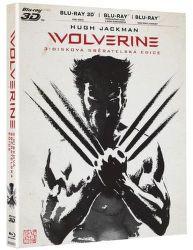 BD F - Wolverine (obsahuje 3D disk + 2D disk + 2D prodloužená verze)