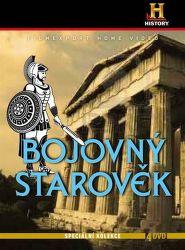 DVD F - Bojovný starověk - 4 DVD digipack