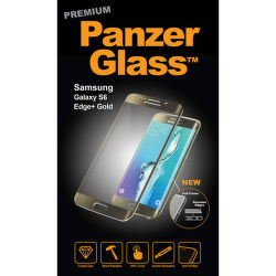 Panzerglass Premium sklo pre Samsung Galaxy S6 Edge+, zlatá