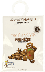 Sweet Home Winter Dream Perníček vonný sáčok