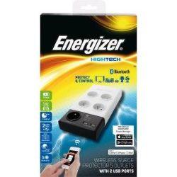 ENERGIZER BT, 5 zás. 2 USB, Prepäťová ochrana