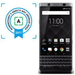 BlackBerry KEYone strieborný