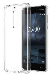 Nokia Hybrid Crystal Case pre Nokia 5, transparentné
